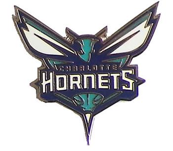Charlotte Hornets Logo Pin #1