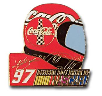 Kurt Busch #97 Helmet Pin