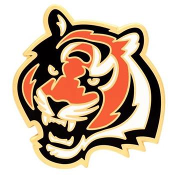 Cincinnati Bengals Logo Pin - Bengal Head