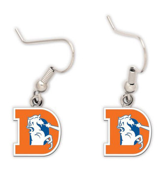Denver Broncos Retro Earrings