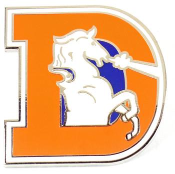 Denver Broncos Vintage Logo Pin