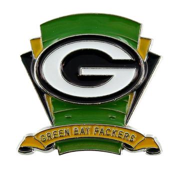 Green Bay Packers Logo Field Pin