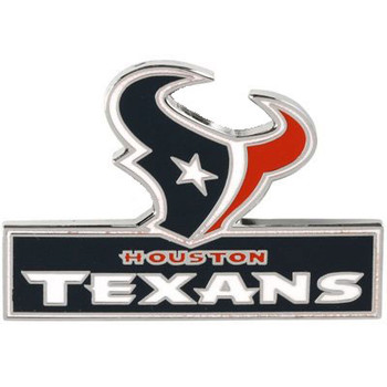 Houston Texans Logo Pin w/ Wordmark