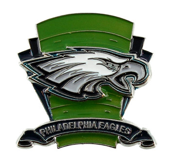 Philadelphia Eagles Logo Field Pin