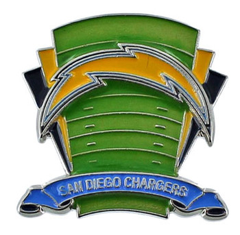 San Diego Chargers Logo Field Pin