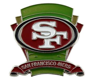 San Francisco 49ers Logo Field Pin