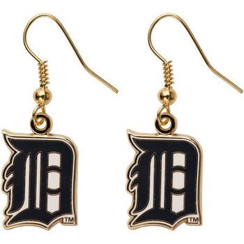 Detroit Tigers Earrings - Gold