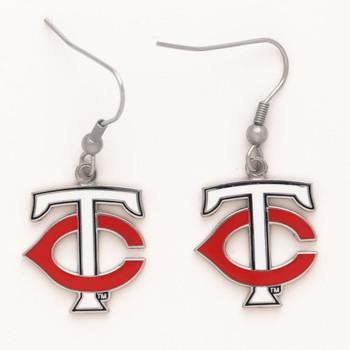 "Minnesota Twins ""TC"" Earrings"