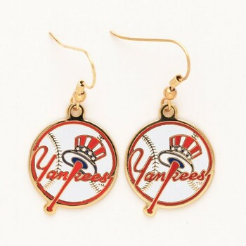 New York Yankees Logo Earrings