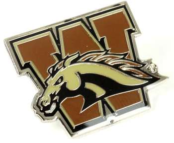 Western Michigan Logo Pin