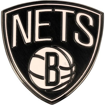 Brooklyn Nets Logo Pin.