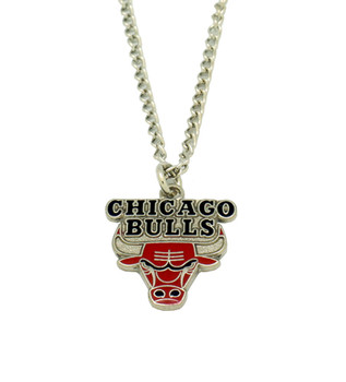 Chicago Bulls Logo Necklace