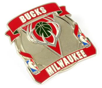 Milwaukee Bucks Net Pin
