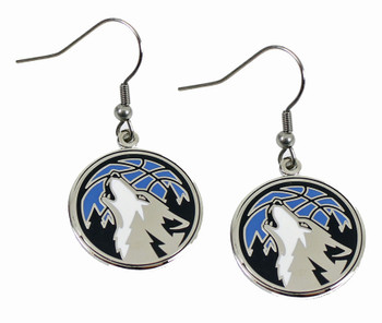 Minnesota Timberwolves Earrings