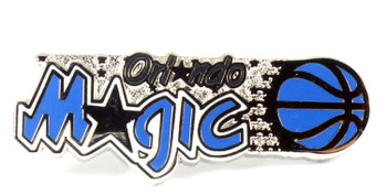 Orlando Magic Vintage Logo Pin - 1989
