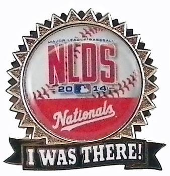 Washington Nationals 2014 NLDS Pin