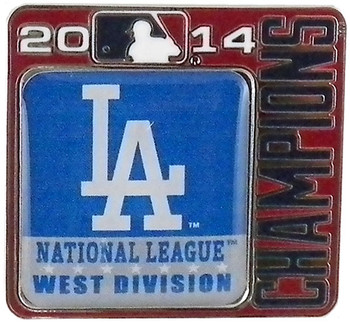 Los Angeles Dodgers 2014 Division Champs Pin