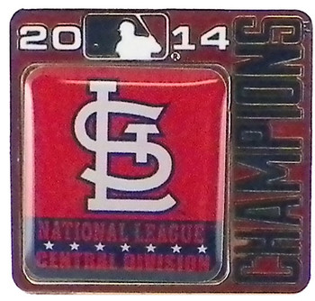 St. Louis Cardinals 2014 Division Champs Pin
