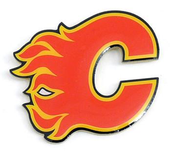 Calgary Flames Logo Pin