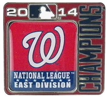 Washington Nationals 2014 Division Champions Pin