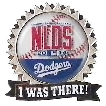 """Los Angeles Dodgers 2014 NLDS """"I Was There"""" Pin"""
