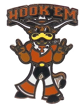 Texas Longhorns Mascot Pin