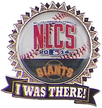 "San Francisco Giants 2014 NLCS ""I Was There"" Pin"