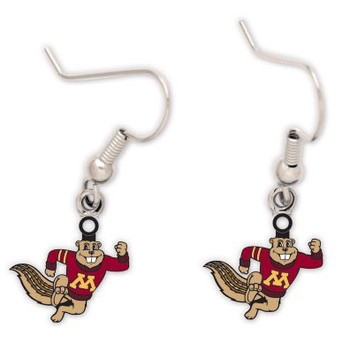 Minnesota Mascot Earrings
