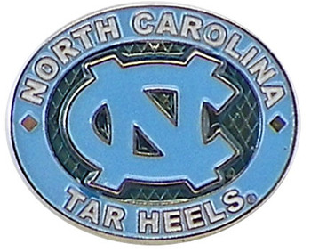 North Carolina Tar Heels Oval Pin