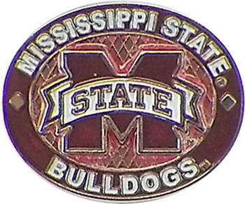 Mississippi State Bulldogs Oval Pin