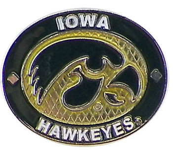 Iowa Hawkeyes Oval Pin