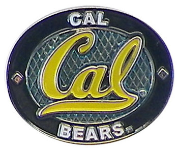 Cal Berkeley Bears Oval Pin
