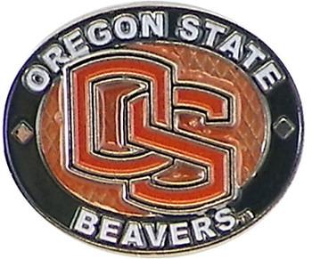 Oregon State Beavers Oval Pin