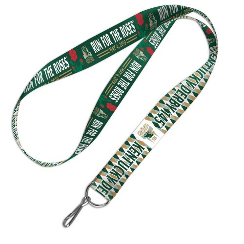 """2019 Kentucky Derby Lanyard - 1"""" Thickness"""