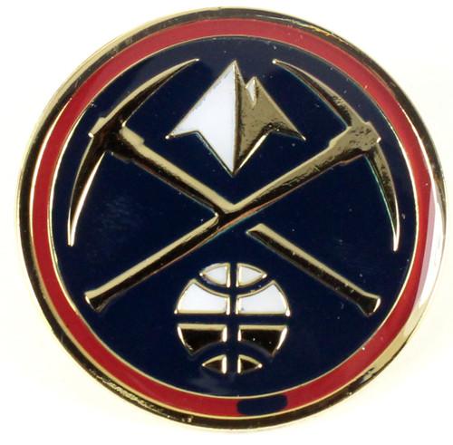 Denver Nuggets Logo Pin.