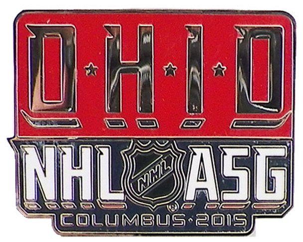 2015 NHL All-Star Game Ohio Pin