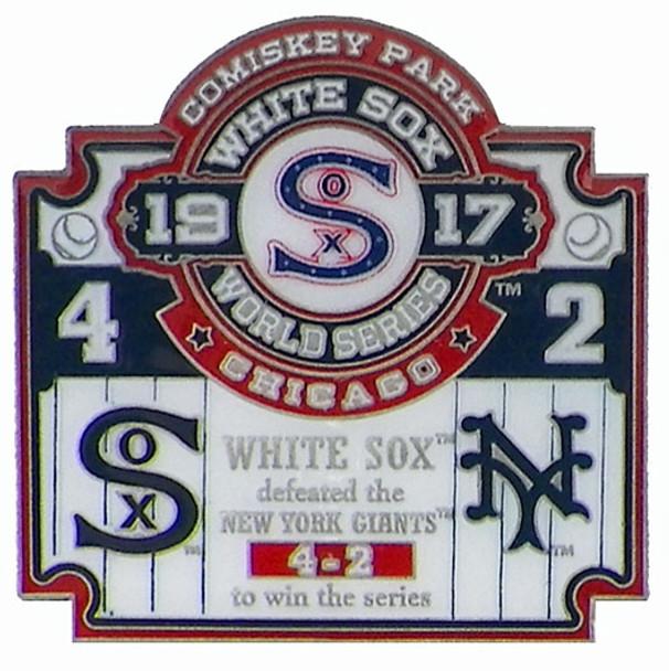 1917 World Series Commemorative Pin - White Sox vs. Giants