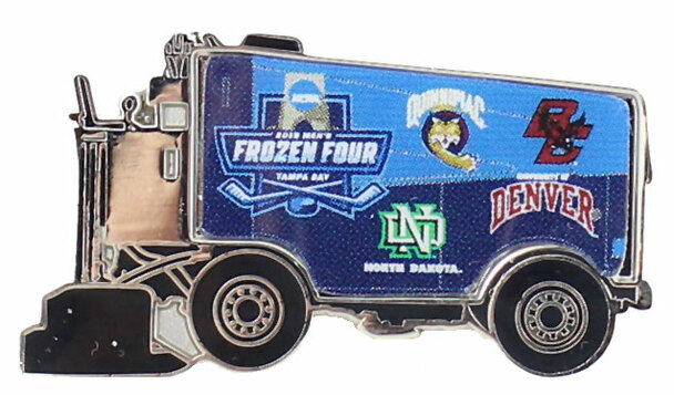 2016 Men's Frozen Four Dueling Teams Zamboni Pin