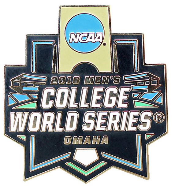 2016 NCAA College World Series Logo Pin