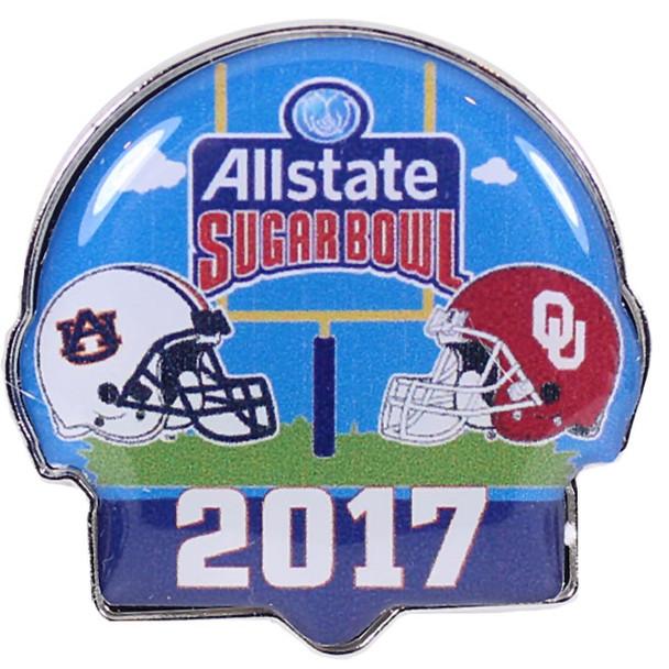 2017 Sugar Bowl Pin - Auburn vs. Oklahoma