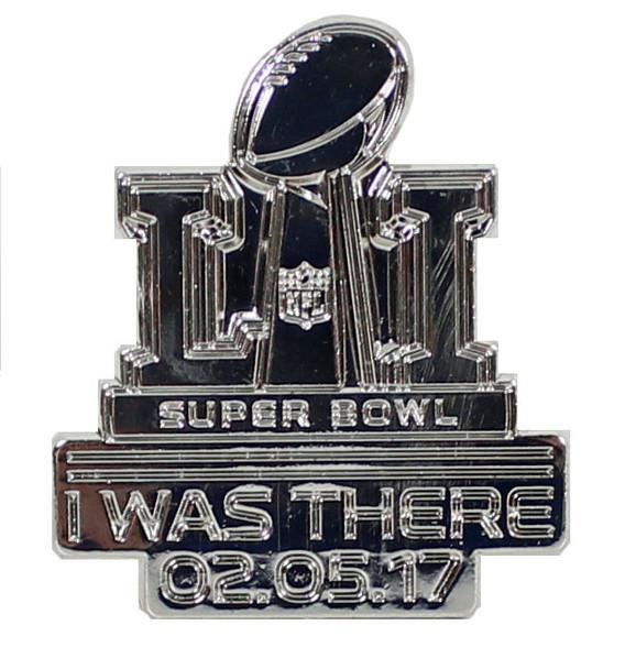 "Super Bowl LI (51) Lanyard w/ Ticket Holder & ""I Was There"" Pin"