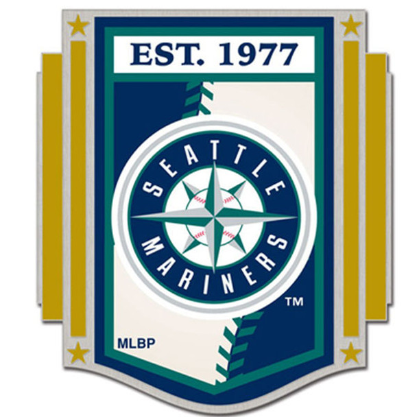 Seattle Mariners Established 1977 Pin