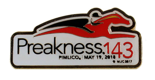 2018 Preakness Stakes 143rd Pin