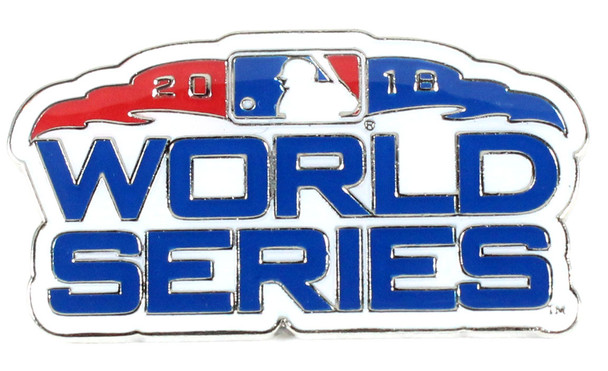 2018 World Series Logo Pin