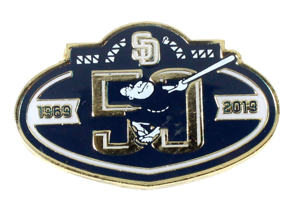 San Diego Padres 50th Anniversary Pin - Limited 500