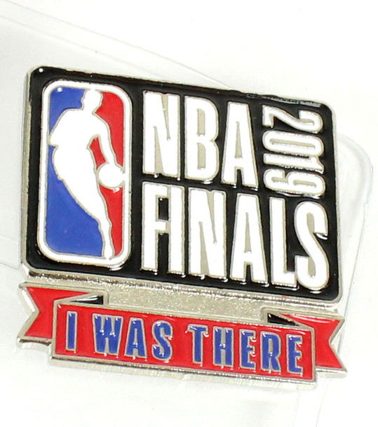 """2019 NBA Finals Lanyard w/ Ticket Holder & """"I Was There"""" Pin"""