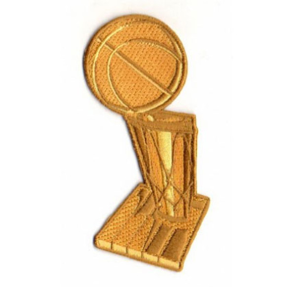 "NBA Champs Trophy PATCH - 4"""