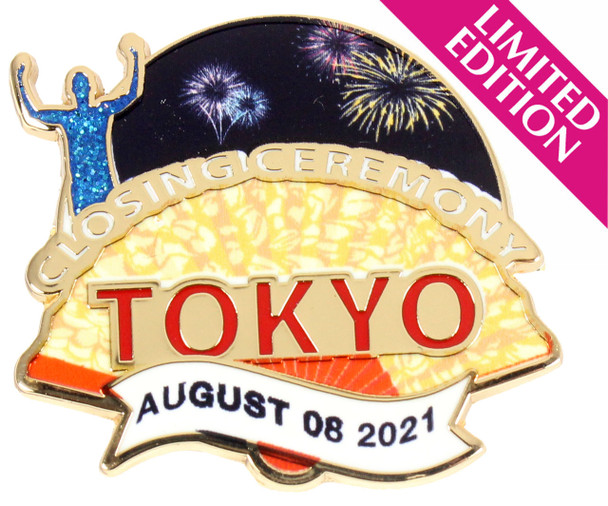 2020 / 2021 Tokyo Olympics Closing Ceremony Pin - Limited 500