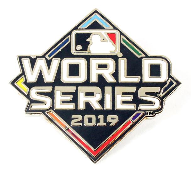 2019 World Series Logo Pin