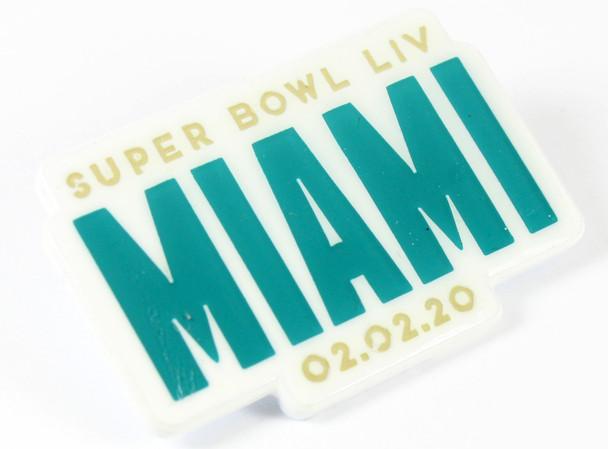 Super Bowl LIV (54) MIAMI Pin